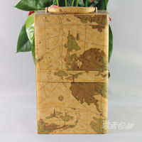 Song Wine Gift Box Wine Wine Earth Pattern Double Branch Factory Outlets Spot Wholesale Specials