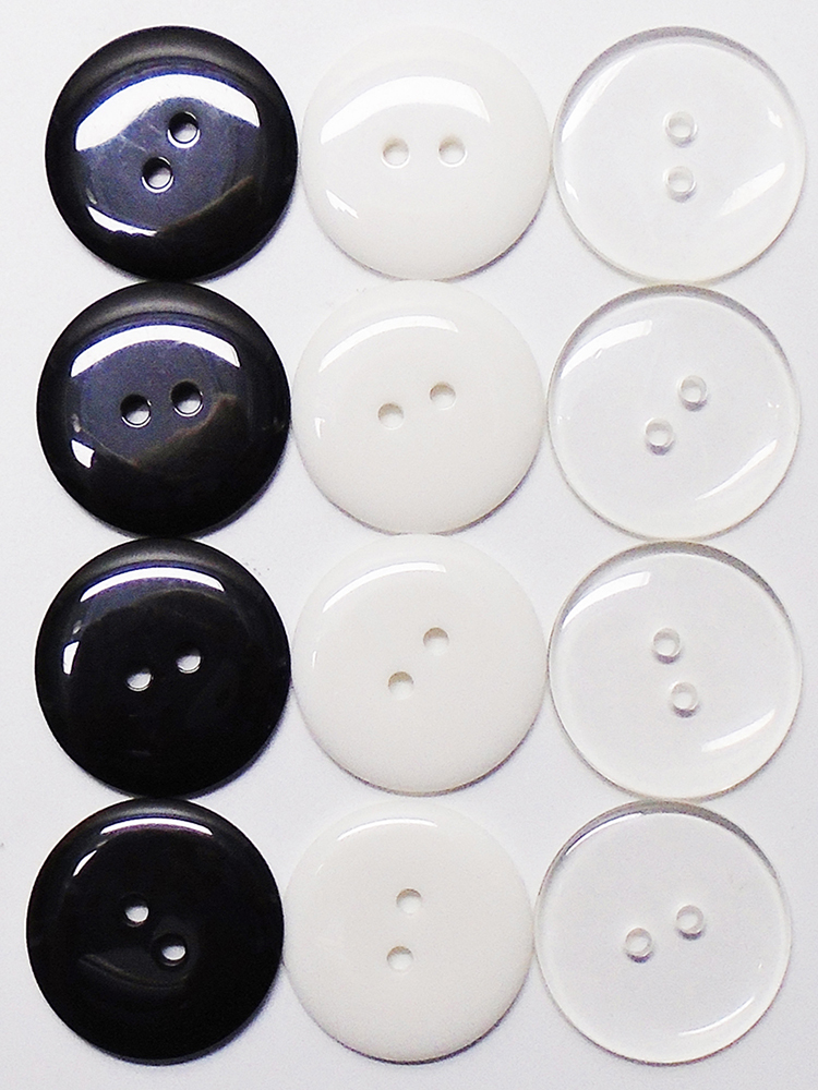 10 Resin Classic Light Purple Buttons Ideal for sewing Free uk P/&P 11mm
