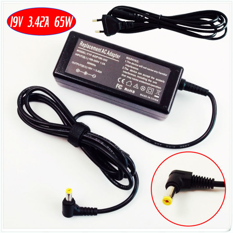 19V 3.42A Laptop Ac Adapter Charger for Acer Extensa 4620 4630 5220 5420 5620 5630 5635  ...