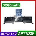 3280 mah laotop bateria ap11d3f ap11d4f 3icp5/65/88 3icp5/67/90 para acer aspire ultrabook s3 ass3 ms2346 s3-391-6407 s3-391-6423