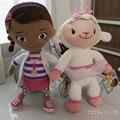Бесплатная доставка 1 компл. оригинальный док McStuffins плюшевые мягкие игрушки, Дотти девушка и McStuffin Lambie овец плюшевые для детей и ребенок подарок