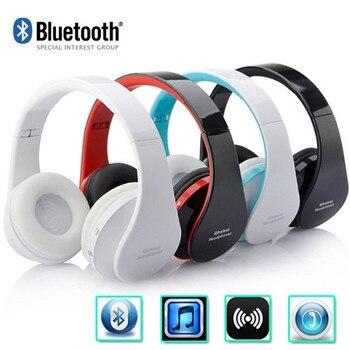 NX-8252 Handsfree Стерео Headfone Casque Аудио Bluetooth Гарнитуры Большие Наушники Беспроводные Беспроводные Наушники для Компьютера PC
