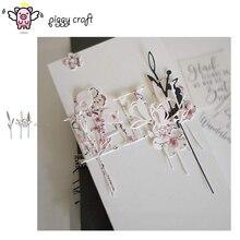 Piggy Ambachtelijke metalen stansmessen cut sterven mal Leaf tak decoratie plakboek craft mes schimmel blade punch stencils sterft