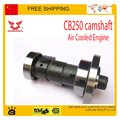 250cc camshaft xmotos bse kayo dirt pit bike ZONGSHEN CB250 250CC air Cooled Engine atv quad motorcycle part free shipping