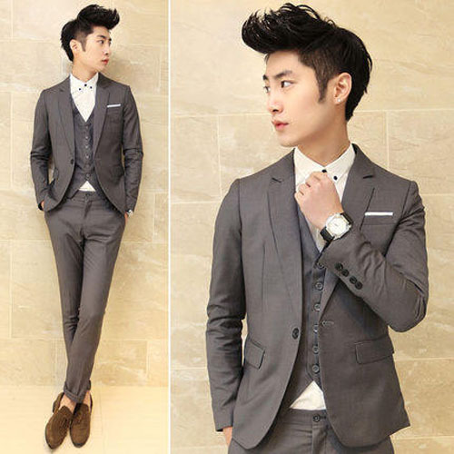 Free shipping new 2015 autumn and winter men's casual suit wedding ...