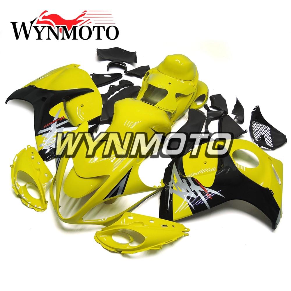 Gelb Schwarz Voll ABS Kunststoff Verkleidung Kits Für Suzuki ...
