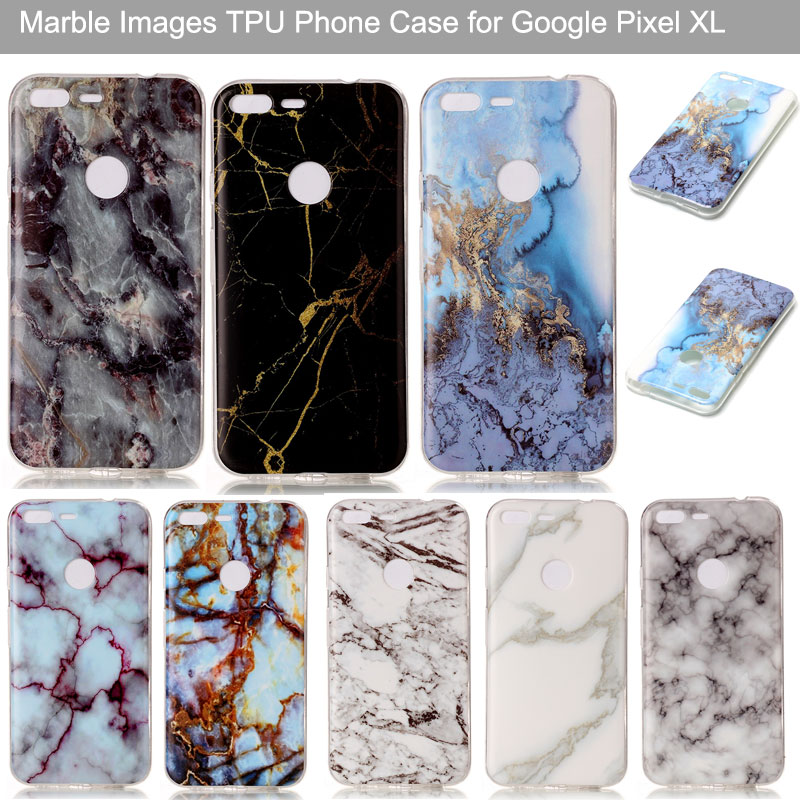 Coque For Google Pixel Case Glossy Marble Design IMD Soft TPU Cover For Google Pixel XL Phone Cases Capinhas De Celular Pixel XL
