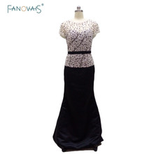 Vestido De Madre Noiva 2015 Luxurious Fully Beaded Long Mermaid Formal Gown Black Mother Of The