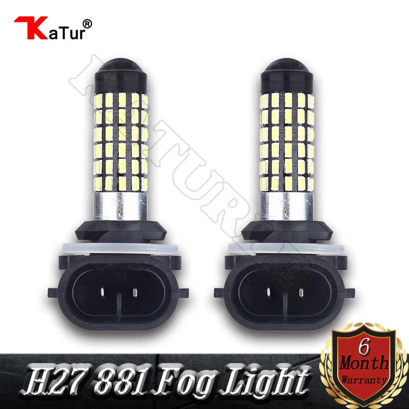 2 Pieces Car Led 12V 24V H27 881 LED Fog Light Daytime Running Lamp DRL H27W/2 Bulb Lamp H27W2 H27W 881 889 Led Bulbs 7.5W White wljh 2x car led 7 5w 12v 24v cob chip 881 h27 led fog light daytime running lamp drl fog light bulb lamp for kia sorento hyundai
