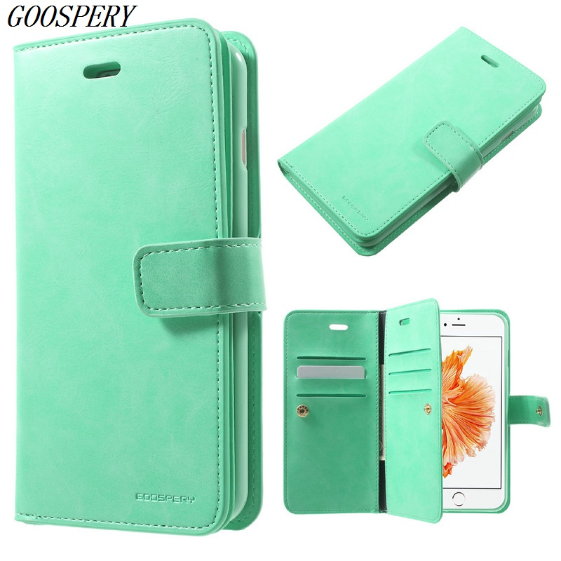 Iphone 7 Plus Wallet Case | For IPhone 7 Plus Wallet Case MERCURY GOOSPERY Mansoor Leather Diary Flip Mobile Phone Cover Case For IPhone 7 Plus 5.5 Inch