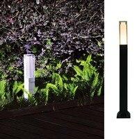 2018 Newest Design IP65 Waterproof LED Bollard Lights 5W Acrylic Diffuser Aluminum Material Garden Lamps For