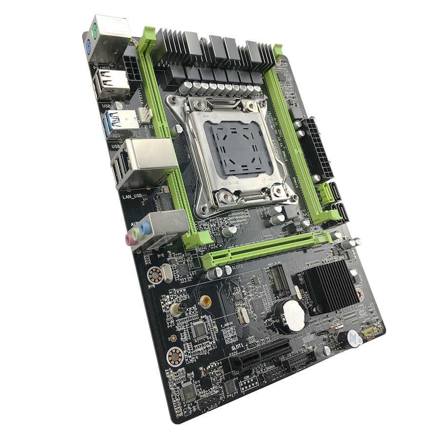 لوحة أم Kllisre X79 M3 LGA2011 ATX USB3.0 SATA3 PCI-E NVME M.2 SSD تدعم ذاكرة REG ECC ومعالج Xeon E5
