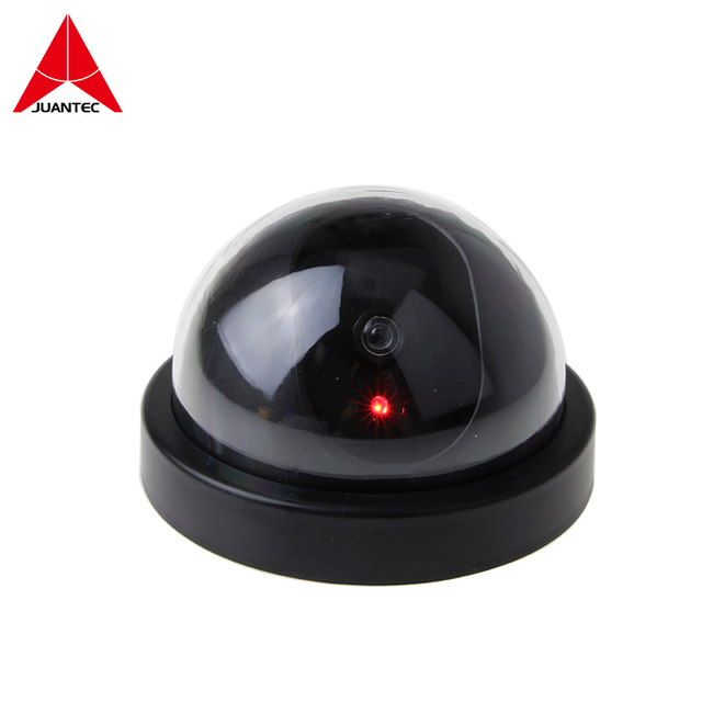 Juantec Wireless Home Security Fake Camera Dummy Simulated video Surveillance indoor outdoor Surveillance IR Led Dome camera