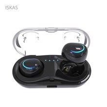 ISKAS Bluetooth Hodetelefoner Bluetooth 4.2 Hodetelefoner Musikk Telefon Bluetooth Bass Telefon Trådløs Telefon Mobiltelefoner Elektronikk TWS