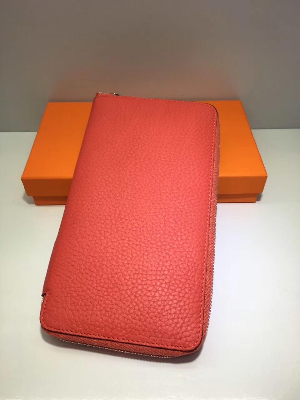 2017 Famous Brand Money Bag Genuine Leather Bussiness Wallets Women General Zipper Clutch Long Purses Card Holder Iphone Pocket