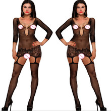 Women Sexy Porn Lingerie Hot transparent Bodysuit Sex Teddy Erotic Lingerie Sexy Sleepwear Costumes Bodystocking