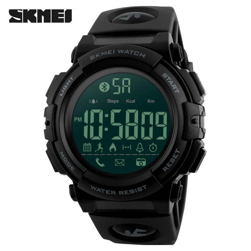 <font><b>SKMEI</b></font> Top Luxury Brand Smartwatch Waterproof Pedometer Calories Remote Camera Outdoor Sports Watches Fashion Digital Smart Watch image