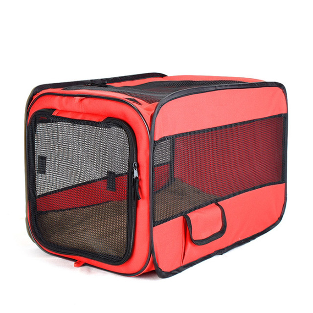 Foldable Pet Carrier Tent With Mat 3