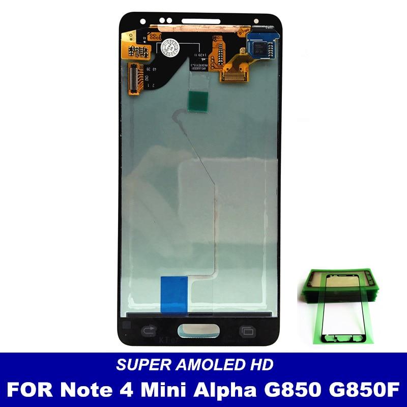 note 4 mini alpha G850 lcd