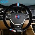 2016 High Quality Universal Plush Car Auto Steering Wheel Cover For Bmw E60 E39 E36 E30 F20 F10 Anti-Slip Protector For toyota