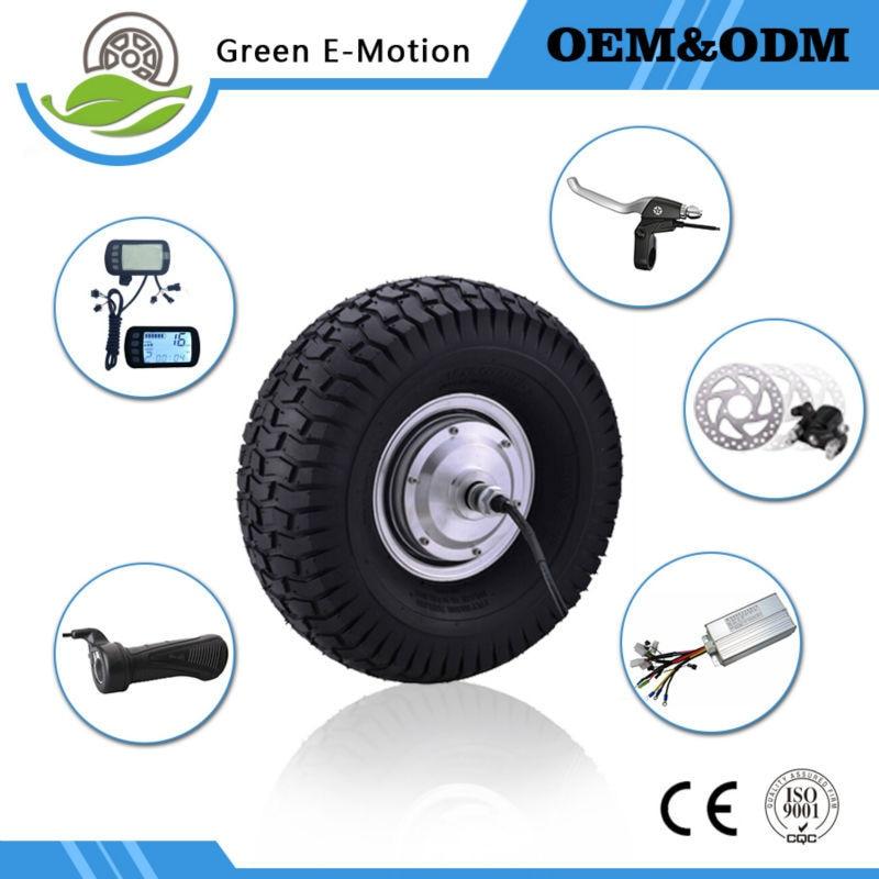 passionate 15inch big wheel electric wheel motor brushless dc hub motor kit 36v 350w font b