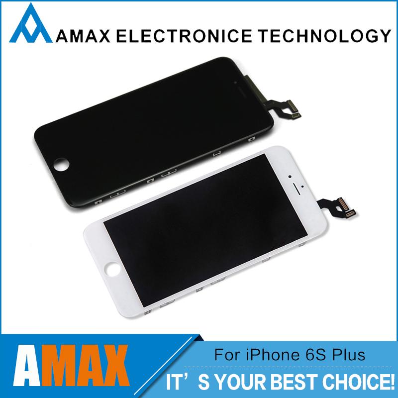 Prix pour 3 PCS/LOT AAA Qualité Pas de Dead Pixel 5.5 pouces LCD Écran Pour Apple iPhone 6 s Plus LCD de Remplacement, noir et Blanc DHL Libèrent Le Bateau