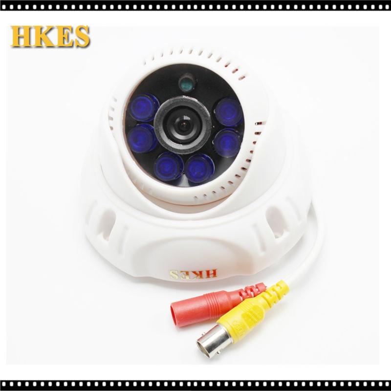 imágenes para HD 1280*720 P Cámara de 1MP AHD con 6 unids Azul LEDs IR 3.6mm Lente Envío Gratis