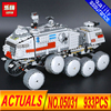 Lepin 05031 933Pcs Star Wars Clone Turbo Tank 75151 Building Blocks Compatible With Legoingly 75151 STAR