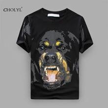 Pp Mode 2017 Tops t shirt Célèbre marque Clothing Pour hommes 3D Impression Kobold T-Shirt streetwear hip hop Coton T-shirt homme(China (Mainland))