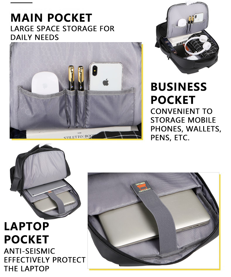 HTB1kRLjN7zoK1RjSZFlq6yi4VXa8 - 2019 Mens USB Charging Backpack 14 - 15.6 inch Laptop Bags