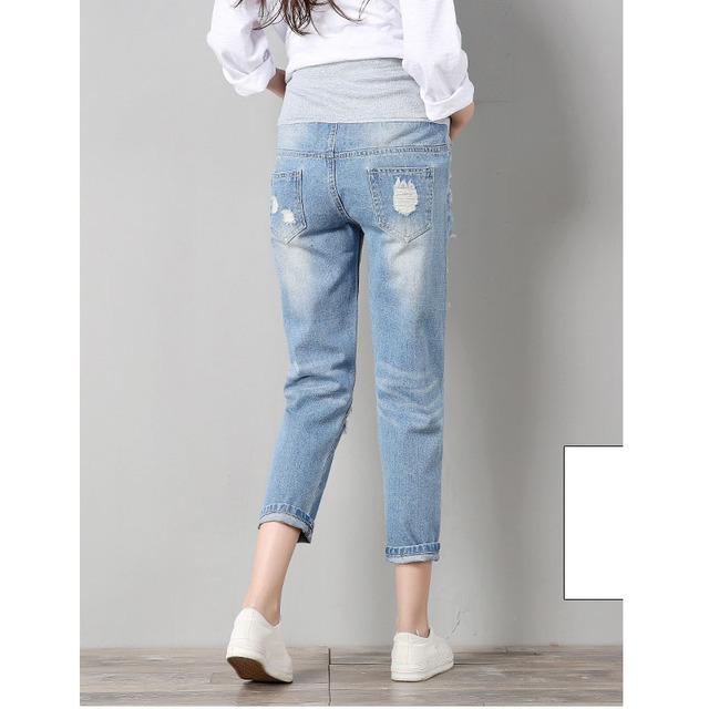 Trendy Maternity Jeans for Pregnant Women
