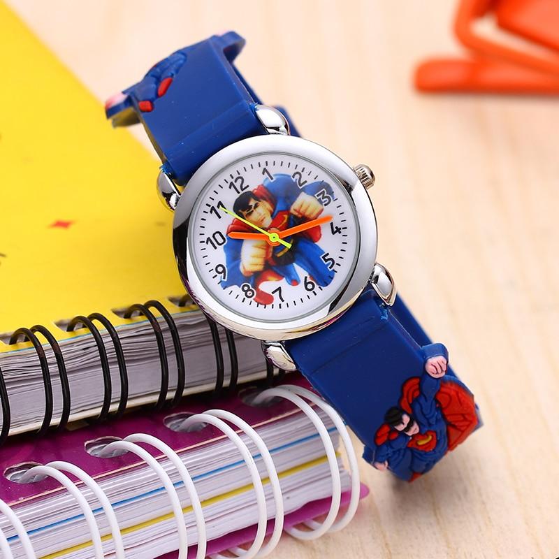 Reloj Boys Children's Watches 3d Cartoon Watch Casual Sports Quartz Watches Kids Wristwatch Clock Relogio Montre Enfant