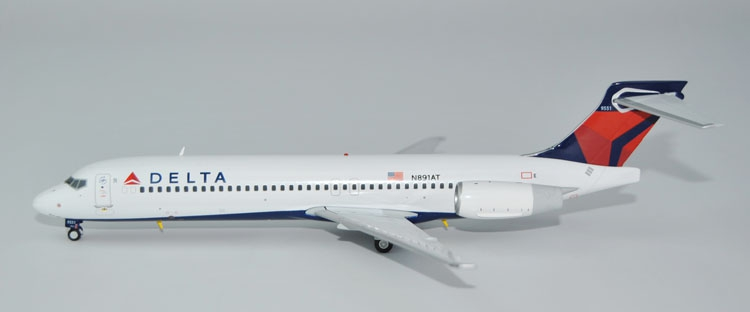 Special offer GeminiJets 1: 200 G2DAL538 Delta Airlines  B717-200 N891AT Alloy aircraft model Collection model Holiday gifts