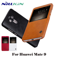 Nillkin Smart Case For Huawei Mate 9 Leather Cell Phone Cover For Huawei Mate 9 Sleep