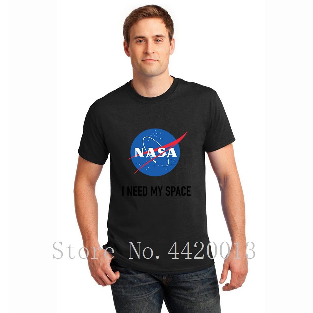 Design 100% cotton S-XXXL i need my space Kawaii Graphic Funny summer Outfit hip hop   t     shirt   men