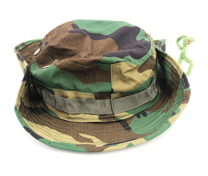 12Colors Mens Camouflage Military Bonnie Hats Wide Brim Hat Outdoor Hunting Bionic Cap Camo Tactical Army
