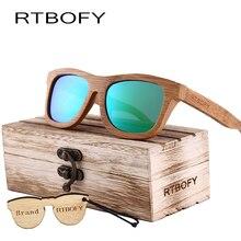 Retro Bamboo Wood Sunglasses Women Brand Designer Goggles Sun Glasses Shades Polarized sunglasses lunette oculo -2A-03