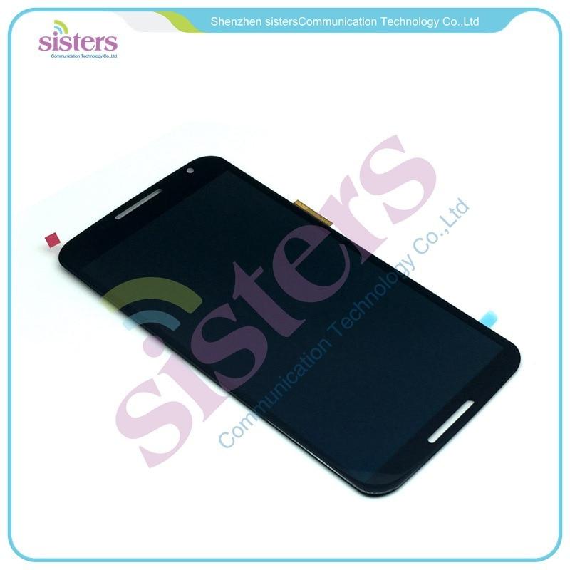 MOTO0109 LCD Display Touch Screen Panel Digitizer Full Assembly Replacement Repair Parts For Motorola Google Nexus 6 XT1100 XT1103 (4)