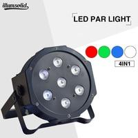 Professional stage equipment 7x12w led par light DMX512 for club disco DJ
