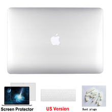 New Hard Crystal Case Cover Sleeve for MacBook pro 13.3 inch retina A1502 A1425 Laptop Shell Cover Shell+Keyboard Cover new us top case with keyboard for macbook pro retina 13 a1502 topcase keyboard 2015 2016 years