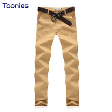 2017 New Summer Cotton Men's Trousers All-match Classic Runner loose-fitting Pants Men men's clothing black khaki pants trousers