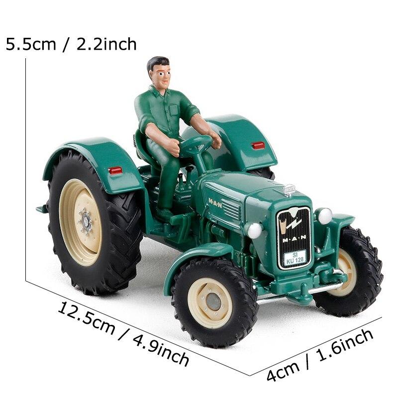 Image 5 - SIKU Simulation tracteur camion jouet alliage Agriculture ferme camions modèle ingénierie voiture enfants jouets cadeaudiecast metaltruck toycar toy -