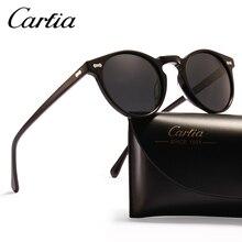 polarized sunglasses carfia 5288 46mm sunglasses women UV400 acateta glasses resin sunglasses men 3 colors with box oval classic