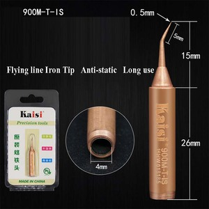 Image 2 - Kaisi Original Oxygen free Copper Soldering Iron Tip 900M T I 900M T IS  For Solder Station Tools Iron Tips Special tip durable