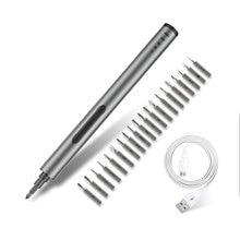 Lithium Battery Electric Screwdriver Kit 20pcs Bit Set Magnetizer Mini Precision Cordless Power Screw Driver Kit for Phone