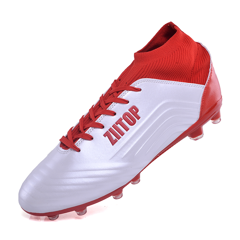 Football Longues Pointes Chaussures Chaussette Sneaker Hommes Botas Futbol Sport Chaussures Grande Taille 39-46 football bottes fussballschuhe football cr7