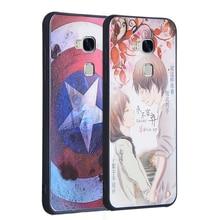 Для honor 5x случаи симпатичные pattern мягкие tpu 3d мягкая кремния случаи живопись крышка защитный чехол для huawei honor 5x телефон случаях