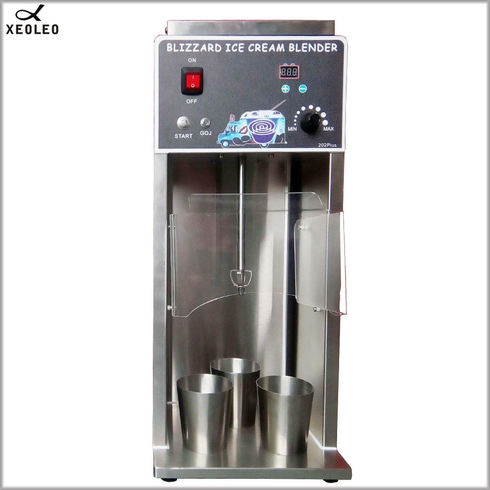 XEOLEO Blizzard Ice cream maker 750W Ice Cream blend 8000 RPM Milkshaker Ice cream mixer Milk shaking machine With timing CE