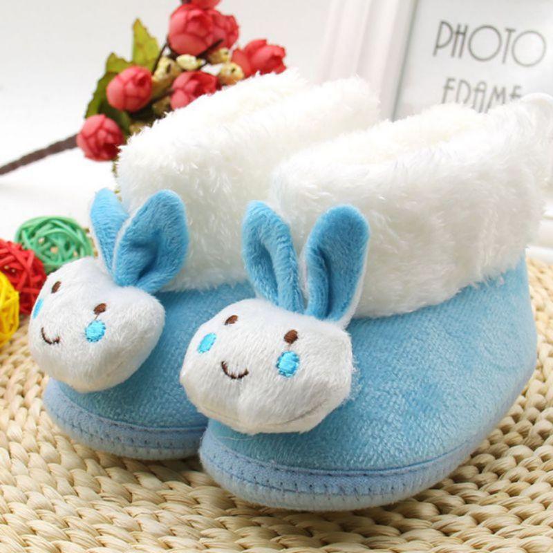 Bottes de neige de cheveux de lapin des enfants d'hiver Chaussures Enfants en peluche chaud QnYQ49jc0