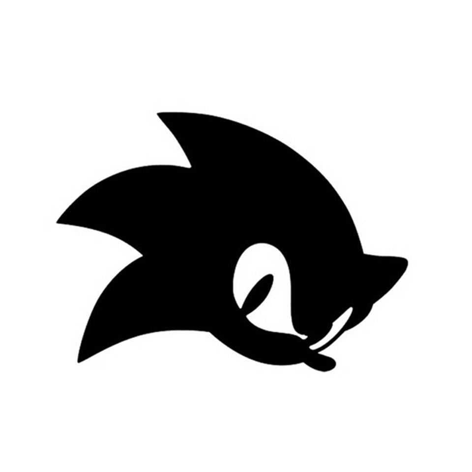 Kartun Permainan Sonic Hedgehog Decal Stiker Bumper Mobil Jendela Kaca Dekoratif Sticker Mode Sepeda Motor Mobil Stiker 13 4 10 Cm Aliexpress